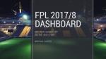 Fantasy PL Dashboard inTableau